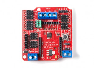 EB0008 Funduino-Xbee-BLUEBEE-sensor-extension-board