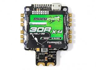 Turnigy MultiStar 30A BLHeli-32 4-in-1 Race Spec ESC w/ F4 FC, OSD & BEC (2-4S) Top