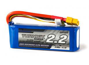 Turnigy 2200mAh 3S 35C Lipo Pack w/XT60