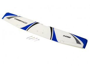 H-King Cessna 182 - Replacement Main Wings (Blue)