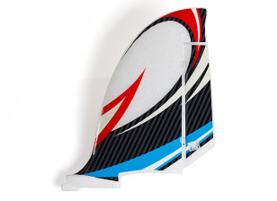 HobbyKing Bixler 2 EPO 1500mm - Replacement Vertical Fin (Blue/Red)