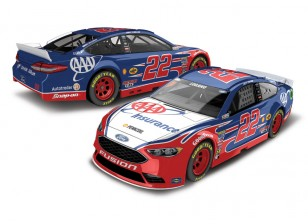 Lionel Racing JOEY LOGANO 2017 AAA 1:64 ARC DIECAST CAR
