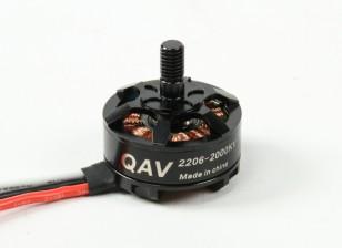QAV RT2206-2000KV Quad Racing Motor (CW)