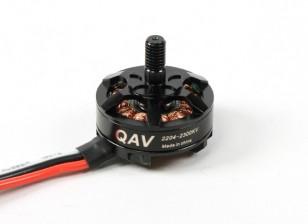 QAV RT2204-2300KV Quad Racing Motor (CCW)