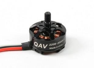 QAV RT2206-2000KV Quad Racing Motor (CCW)