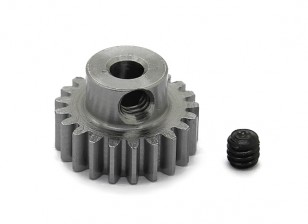 Robinson Racing Steel Pinion Gear 48 Pitch Metric (.6 Module) 21T