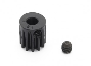 Robinson Racing Black Anodized Aluminum Pinion Gear 48 Pitch 12T