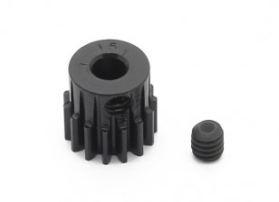 Robinson Racing Black Anodized Aluminum Pinion Gear 48 Pitch 15T