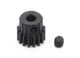 Robinson Racing Black Anodized Aluminum Pinion Gear 48 Pitch 16T