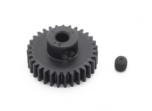 Robinson Racing Black Anodized Aluminum Pinion Gear 48 Pitch 31T