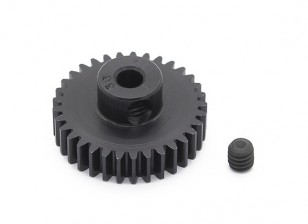 Robinson Racing Black Anodized Aluminum Pinion Gear 48 Pitch 33T