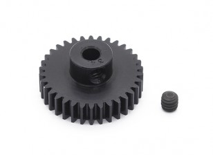 Robinson Racing Black Anodized Aluminum Pinion Gear 48 Pitch 34T
