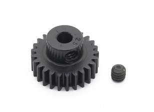 Robinson Racing Black Anodized Aluminum Pinion Gear 48 Pitch 25T