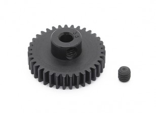 Robinson Racing Black Anodized Aluminum Pinion Gear 48 Pitch 35T