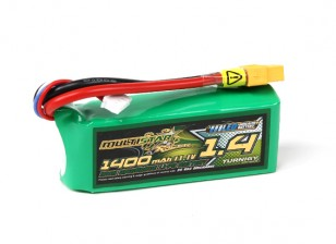 MultiStar Racer Series 1400mAh 3S 65C  Multi-Rotor Lipo Pack (with LED indicator)