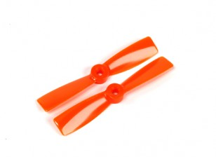 GemFan 4045 Bullnose Polycarbonate Propellers (CW/CCW) Orange (1 pair)