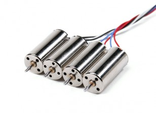 Mini Quad Brushed Motors 8.5x20mm (4pcs)