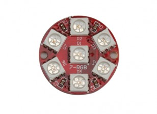 Keyes Wearable 2817 7 LED RGB LED Module