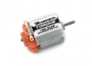 Basher Torque 130 Size Brushed Motor (Orange)