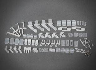 Plastic Parts COMBO-03 (Chuck / Clevis / Rocker / Presser)
