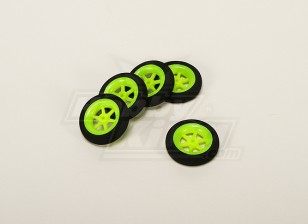 Super Light Multi Spoke Wheel D40x11mm (5pcs/bag)