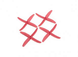 "Dalprops ""Indestructible"" PC 5040 4-Blade Props Pink (CW/CCW) (2 pairs)"