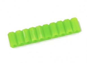 Nylon Spacer 12mm M3 F/F Green (10pcs)