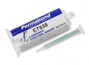 Permabond® ET538 Two-Part Epoxy Adhesive 50ml Twin Tube