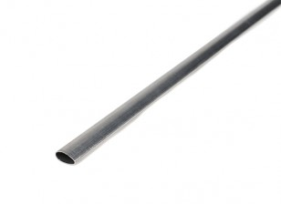 "K&S Precision Metals Aluminum Streamline Tube 1/2"" x 35"" (Qty 1)"