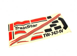 Trainstar Tough Trainer 1400mm - Decals (Red Only)