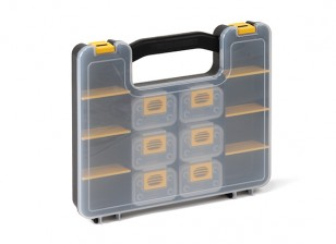 Plastic Multi-Purpose Organizer - 14 Compartment