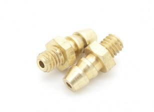 M4 Brass Pressure fitting 2pcs