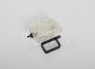 Header Tank Assembly for All 30-90 size Heli (Plastic Holder)