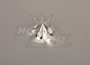 CNC 3D spinner Small V2 Silver