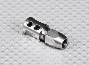 Steel Shaft Adapter - 5mm Motor Shaft to 5mm Flexi Shaft
