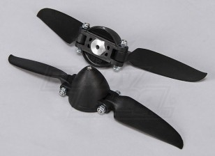 Folding Propeller W/Hub 35mm/3mm Shaft 6.5x3 (2pcs)