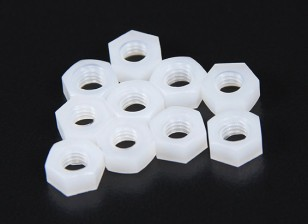 M5 Nylon Nut (10pcs/bag)