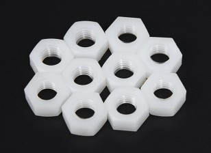 M8 Nylon Nut (10pcs/bag)