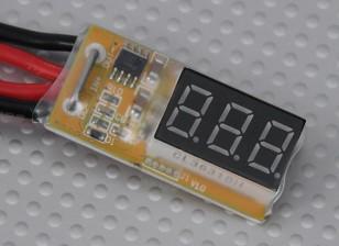 In-Line Voltage and Wattmeter