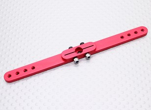 Heavy Duty Alloy 4.5in Pull-Pull Servo Arm - JR (Red)