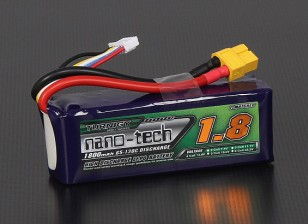 Turnigy nano-tech 1800mah 4S 65~130C Lipo Pack