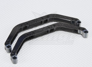 Carbon Fiber Landing Skid Set for T-Rex 500 Helicopter