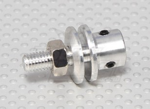 Prop adapter w/ Steel Nut 3mm shaft (Grub Screw Type)