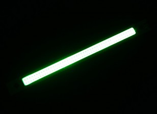 3W Green LED Alloy Strip 120mm x 12mm (3s Compatible)