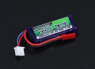 Turnigy nano-tech 300mah 2S 35~70C Lipo Pack