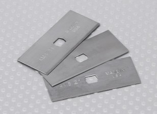 Razor Plane Replacement Blades (3pcs)