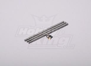 HK-250GT Main Shaft (3pcs/set)