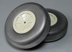 Light Foam Wheel (Diam: 127, Width: 38mm) (2Pcs/Bag)
