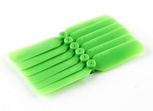 GWS EP Propeller (DD-2510 65x25mm) Green (6pcs/set)