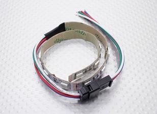 LED Red, Green, Blue (RGB) Strip 25cm w/Flying Lead